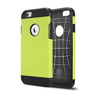 Противоударный бампер Spigen для Apple iPhone 5/5S/5SE Green, фото 1