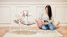 Дитяче крісло-качалка Lionelo RUBEN STONE GREY