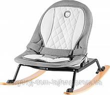 Детская кресло-качалка Lionelo ROSA GREY/BLACK