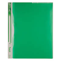 Папка-уголок А4 1481-09-A 5 разделителей, зелёная