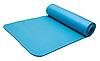 Коврик для йоги Power System Fitness Yoga Голубой цвет, фото 2
