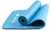 Коврик для йоги Power System Fitness Yoga Голубой цвет, фото 4