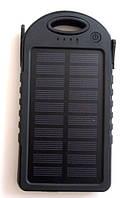 Power bank solar 5000 mAh + зарядка от солнечной батареи  , фото 1