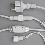 Гирлянда уличная Штора Alphatrade 3*3 м, 480 диодов, белый провод, цвет белый холодный, с мерцанием flash, фото 5