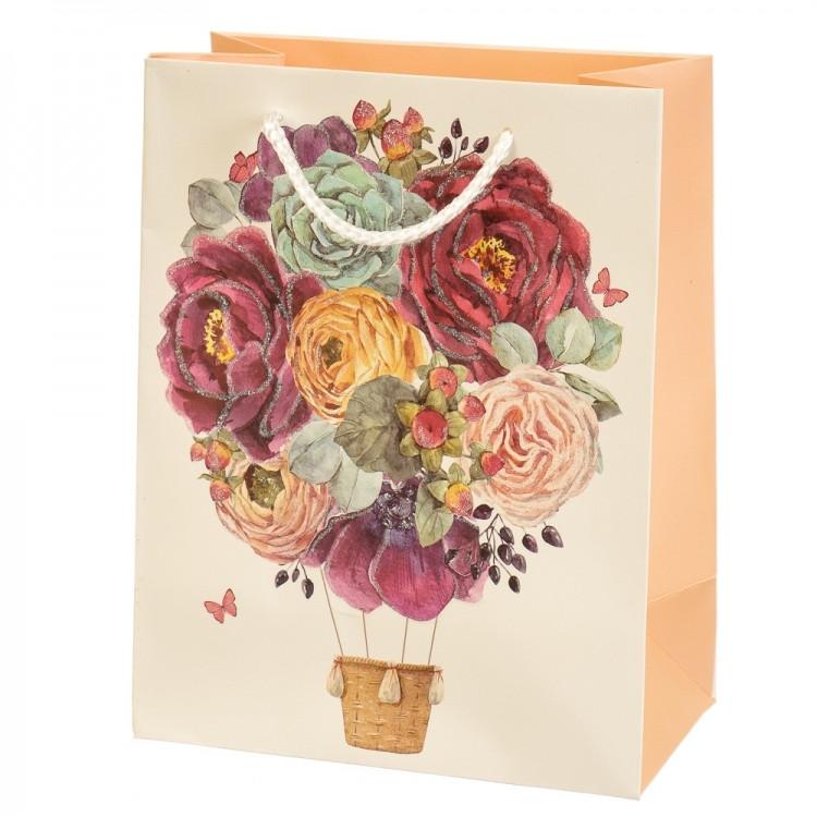 Подарочный пакет Букет ярких Роз