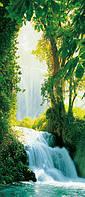 Фотообои на дверь Сарагосский водопад, 86х200 см