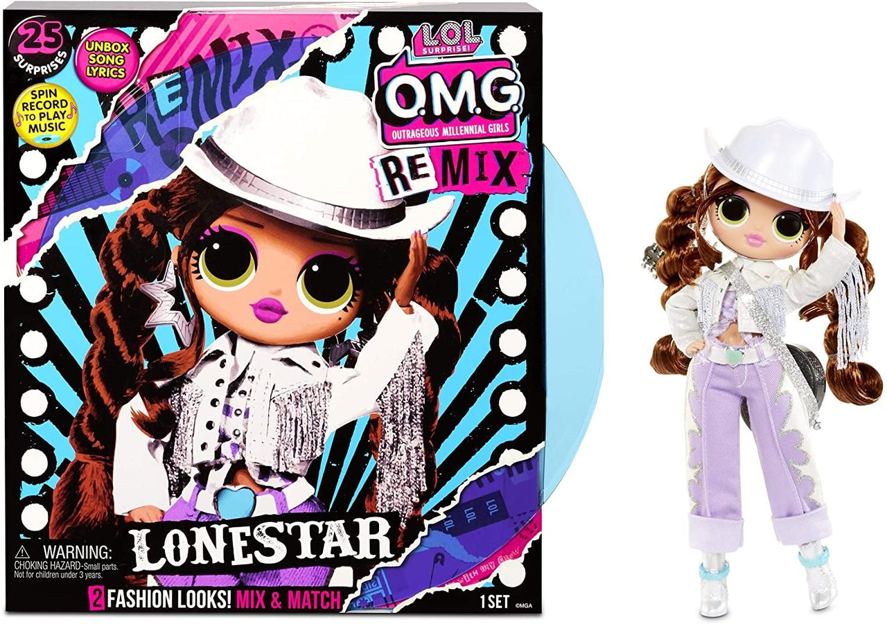 Кукла ЛОЛ ОМГ Ремикс Леди-кантри L.O.L. Surprise OMG Remix Lonestar (567233)