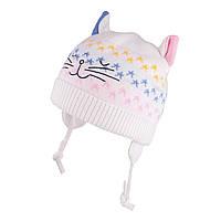 Зимняя шапка для девочки TuTu  арт. 3-005145(40-44, 44-48)
