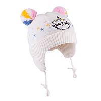 Зимняя шапка для девочки TuTu  арт. 3-005146(42-46, 46-50)
