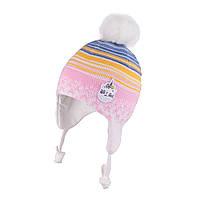 Зимняя шапка для девочки TuTu  арт. 3-005147(44-48, 48-52), фото 1