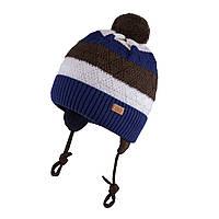 Зимняя шапка для мальчика TuTu арт. 3-005191( 46-50), фото 1