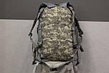 Тактический (военный) рюкзак Raid с системой M.O.L.L.E Тем. Пиксель (601), фото 6