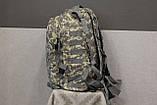 Тактический (военный) рюкзак Raid с системой M.O.L.L.E Тем. Пиксель (601), фото 7