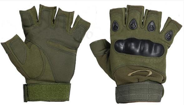 Тактические перчатки Oakley (Беспалый). - Khaki L (25659 L)