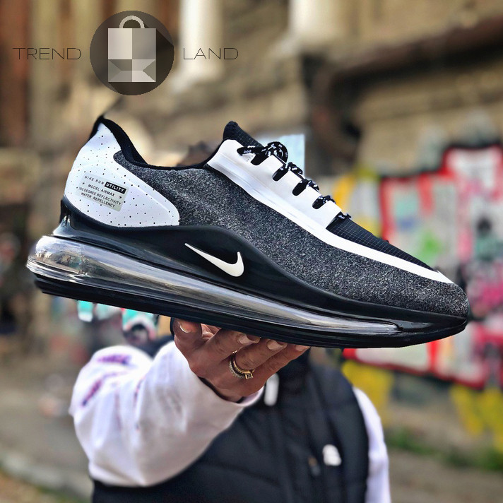Мужские кроссовки в стиле Nike Air Max 720 Run Utility Grey\White