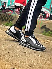 Мужские кроссовки в стиле Nike Air Max 720 Run Utility Grey\White, фото 3