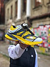 Женские кроссовки в стиле Balenciaga Track Yellow\Black Жёлтые, фото 3