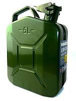 Канистра для бензина 5 л металлическая, WINSO 165050