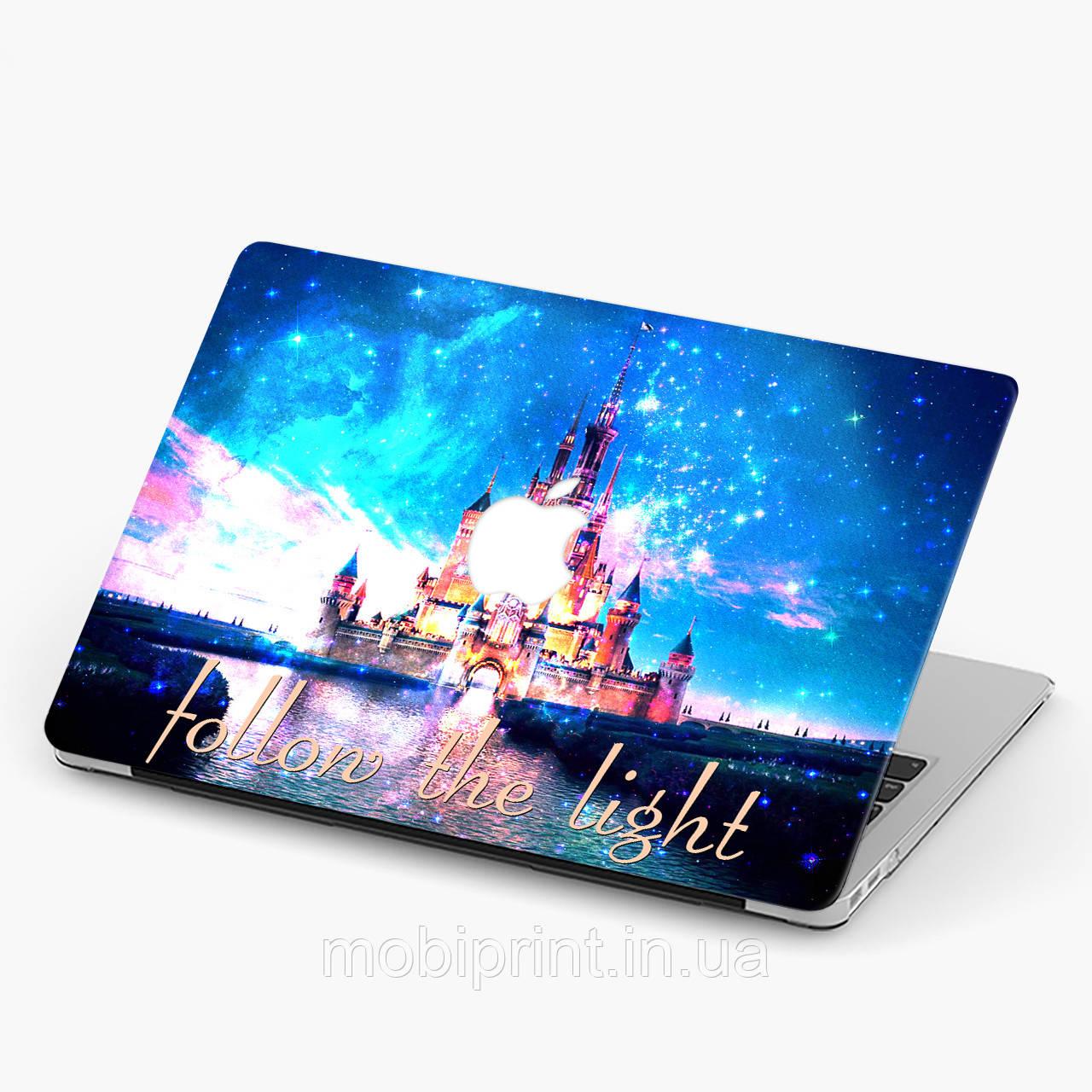 Пластиковий чохол для Apple MacBook Pro / Air Дісней Вслід за світлом (Disney Follow the light) макбук про