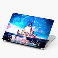 Пластиковий чохол для Apple MacBook Pro / Air Дісней Вслід за світлом (Disney Follow the light) макбук про, фото 1