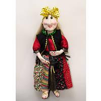 Баба-Яга з Мітлою / Лялька-Оберіг
