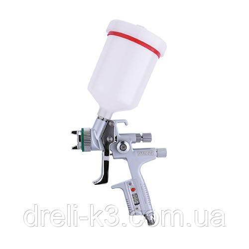 Пневмокраскопульт цифровий HVLP верх. п/б 600мл, 1,4 мм ITALCO H-5000-Digital-1.4