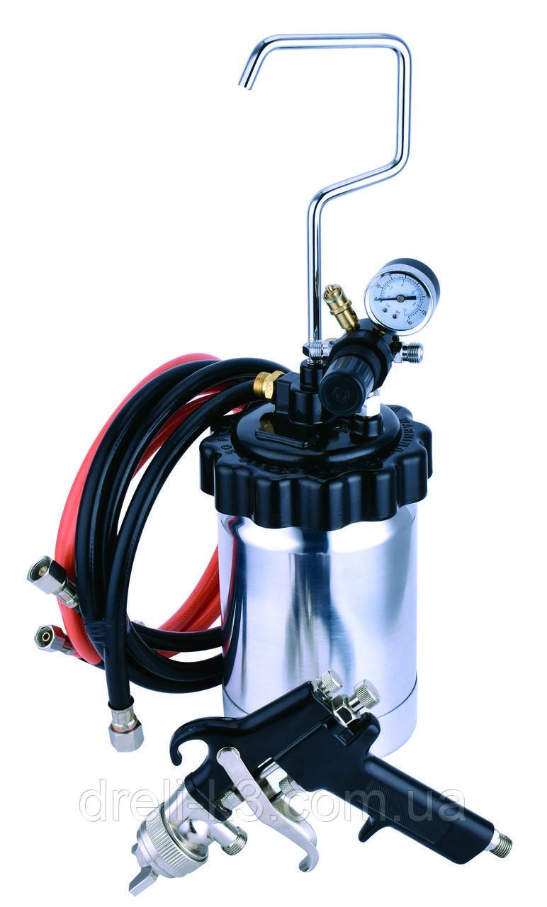 Красконагнетательный бак 2 литра с краскопультом AUARITA PT-2-2.0