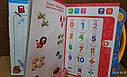 Інтерактивна навчальна розвиваюча книга, мова російська та англійська, фото 6