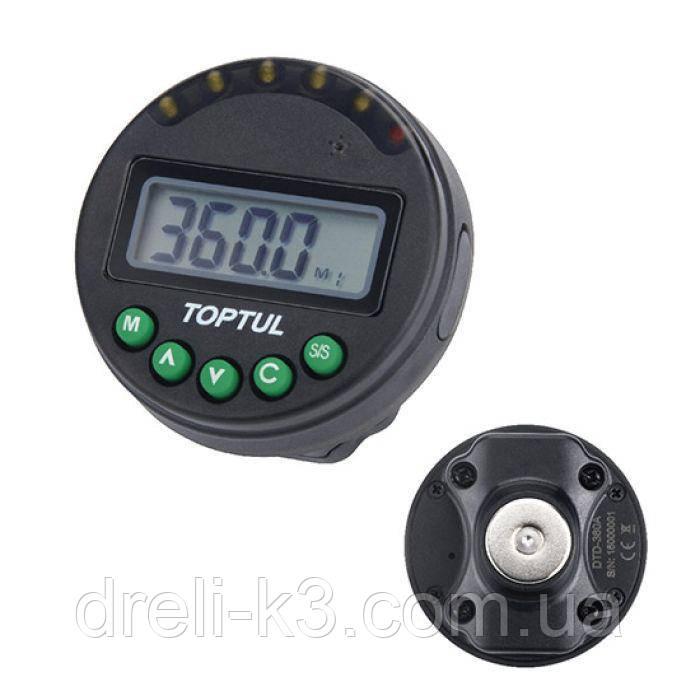 Шкала доворотная электронная с магнитным креплением  1°~360° TOPTUL DTD-360A