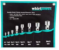 Набір ключів трубчастих Whirlpower 6-22мм 8 предметів (1244-41-B08)