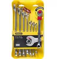 Набір ключів комбінованих STANLEY Ratcheting Wrench 8шт (4-95-660)