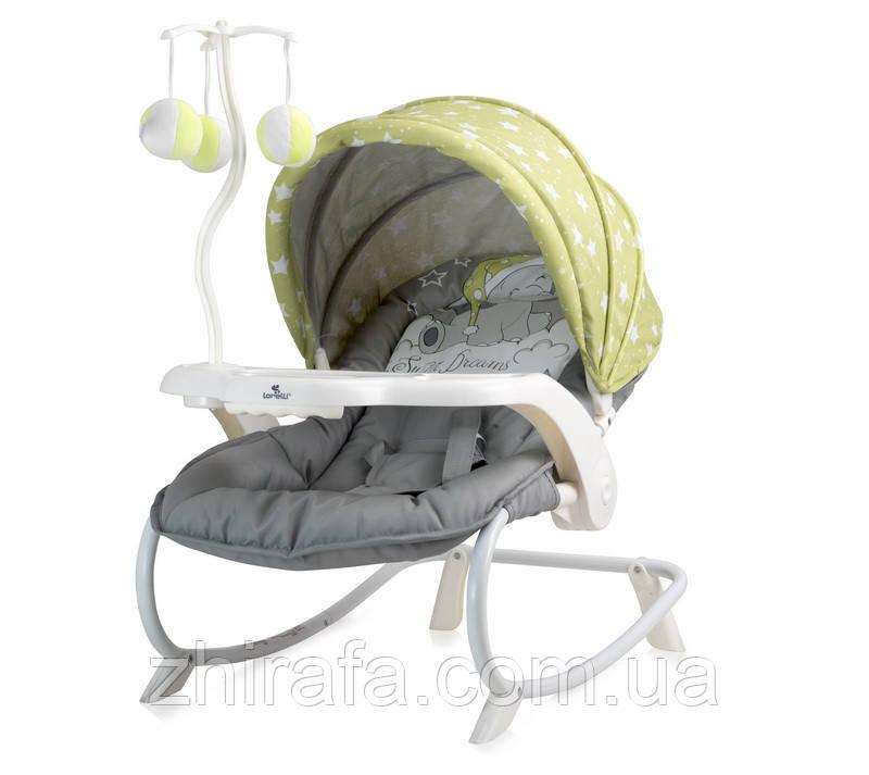 Шезлонг Lorelli Dream Time Зелёно-серый