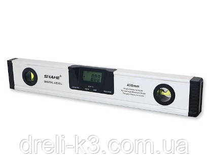 Електронний рівень з лазером і кутоміром (4*90°/400мм) PROTESTER 5419-400D
