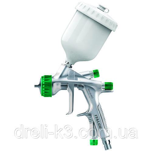 Пневмокраскопульт міні HVLP 250мл, 1.2 мм ITALCO Shine-MINI-1.2