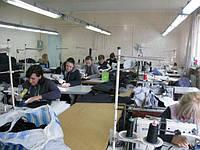 Фабрика пошива одежды