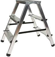 Стремянка двусторонняя VIRASTAR Step Stool алюминиевая 2x3 (DR125ALDD3)