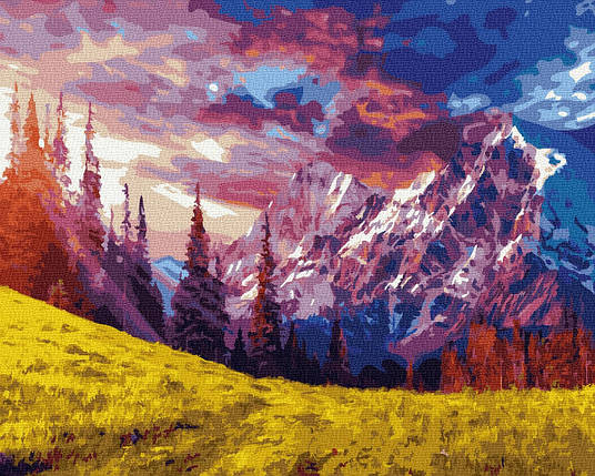 Картина по Номерам Великолепие гор 40х50см RainbowArt, фото 2