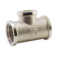 Трійник нікель FADO 3/4″х1/2″ редукційний T04