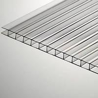 Полікарбонат стільниковий POLYGAL 8 мм прозорий