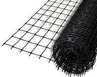 Сетка защитная от птиц Tenax S-38 черная 2x50м