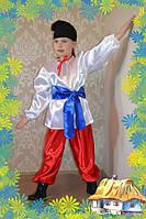 Детский украинский национальный костюм  для мальчика Код. 128