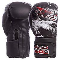 Перчатки боксерские BAD BOY SPIDER FLEX на липучке VL-6602, 12 унций