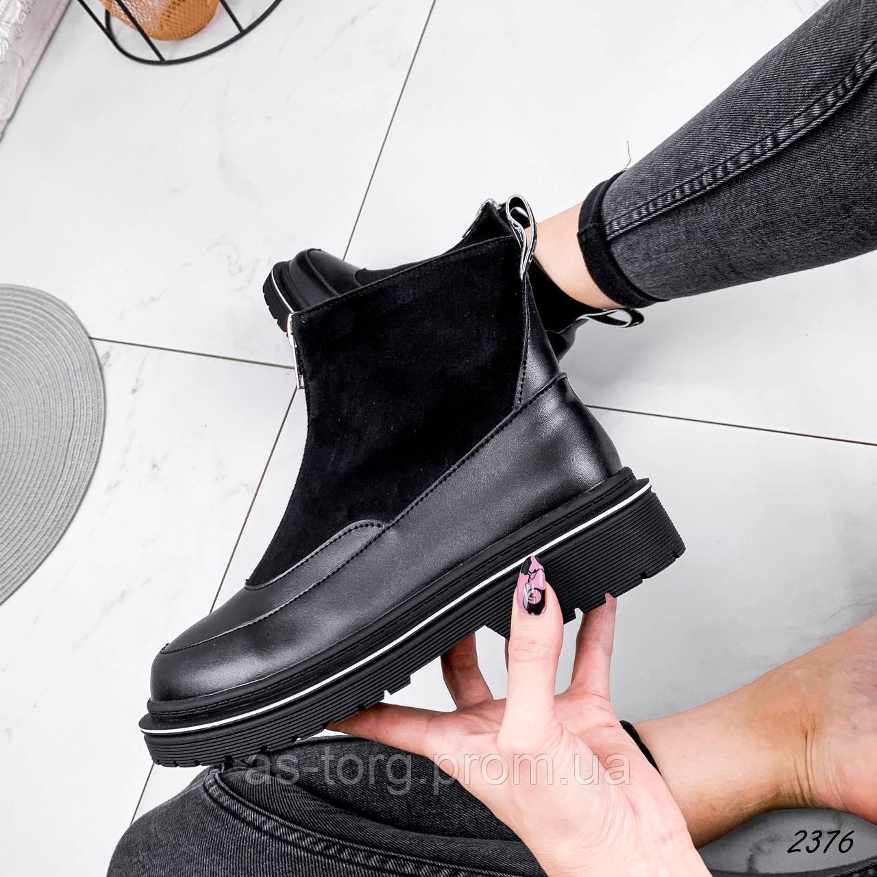 Ботинки женские Mair черный 2376 ЗИМА