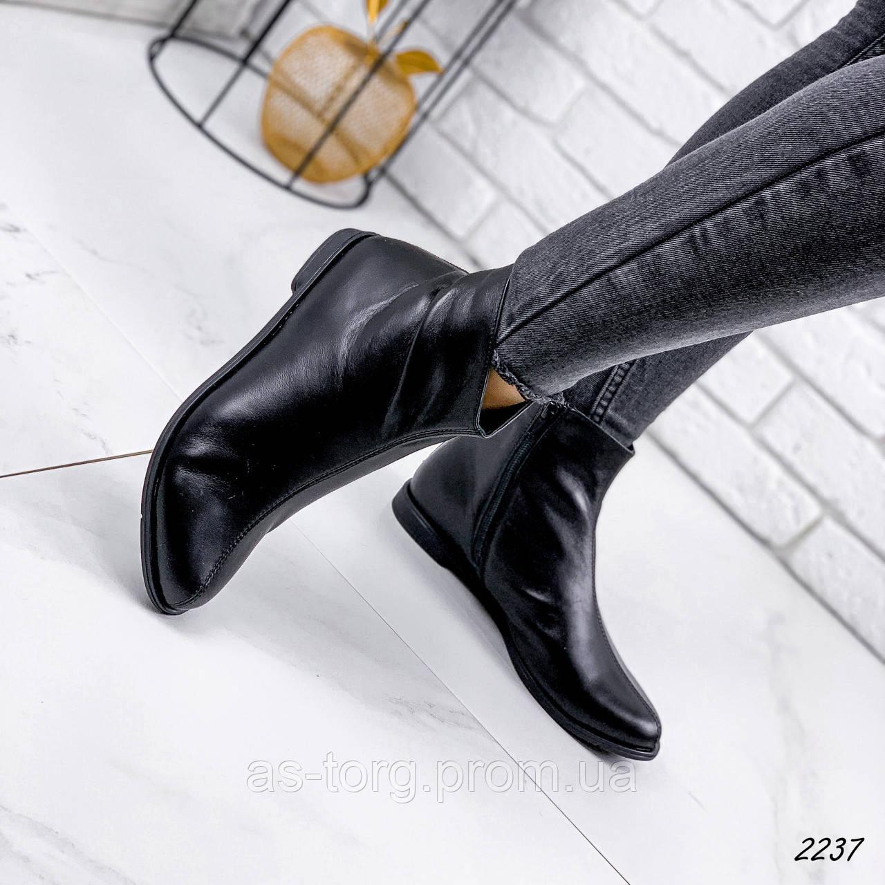 Черевики жіночі Tolly чорні 2237