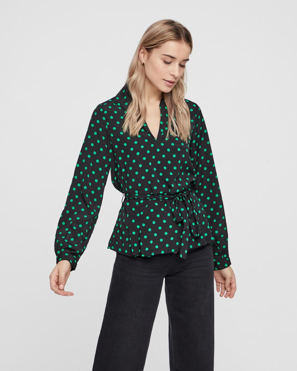 Блузка Vero Moda 10209941 XS Чёрный