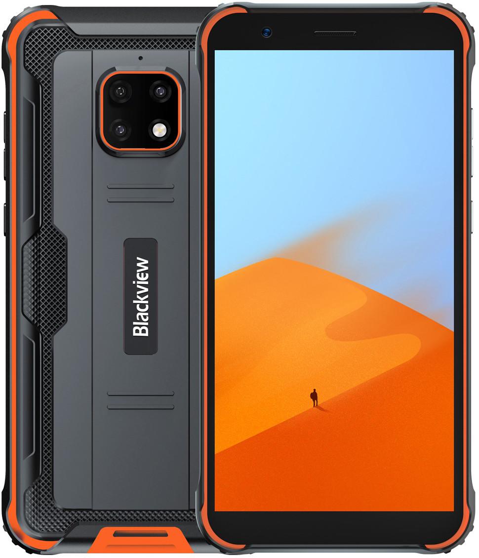Blackview BV4900   Оранжевый   IP68   3/32Гб   NFC   4G/LTE   Гарантия
