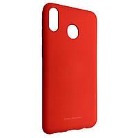 Чехол-накладка Silicone Hana Molan Cano для Samsung A20 A30 Красный 08726-757, КОД: 1672338