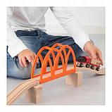 Набір Залізничний міст для дерев'яної залізниці IKEA LILLABO (103.200.63), фото 2