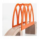 Набір Залізничний міст для дерев'яної залізниці IKEA LILLABO (103.200.63), фото 3
