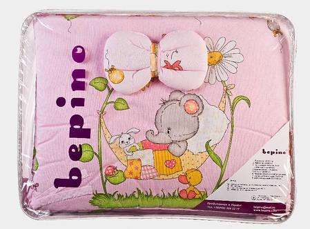 """Комплект детского постельного белья """"Слоник розовый"""", ткань хлопок, фото 2"""